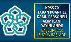 Necmettin Erbakan Üniversitesi KPSS 70 ile 6 sözleşmeli personel alım ilanı yayınladı!