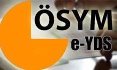ÖSYM'den YDS Yabancı Dil Seviye Tespit Sınavı duyurusu yayınlandı. e-YDS başvurusu nasıl yapılır?