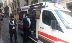 İstanbul Fatih'te  otel yangını! Yaralılar var..