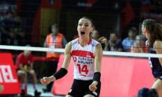 Türkiye 2019 Kadınlar EuroVolley maçında Hollanda'yı yenerek tarih yazdı - Son dakika