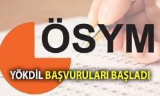 YÖKDİL Yabancı Dil Sınavı'na başvurular 13 Eylül'de  başladı. YÖKDİL Sınavı Başvuru Linki