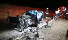 Yozgat - Kayseri karayolunda trafik kazası: Uzman onbaşı hayatını kaybetti, 2 kişi yaralandı