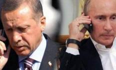 Cumhurbaşkanı Erdoğan Putin ile telefonda Barış Pınarı Harekatı hakkında görüştü