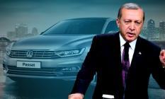 Cumhurbaşkanı Erdoğan'dan Volkswagen'in yatırımına Passat jesti!
