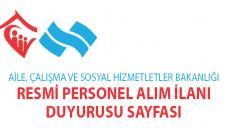 Kamu kurumuna Sosyal Yardım ve İnceleme Görevlisi ile Büro personeli alınacaktır