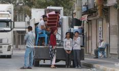 Nusaybin'den Mardin'e çocuklarını kurtarmak için taşınıyorlar!