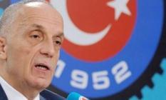 """TÜRK-İŞ Başkanı Atalay: """"Kıdem Tazminatı bizim kırmızı çizgimiz"""""""