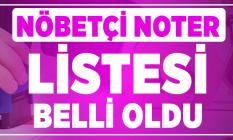 Türkiye Noterler Birliği açıkladı: Nöbetçi noter listesi belli oldu! 19 Ekim Cumartesi açık nöbetçi noterler! 20 Ekim pazar nöbetçi noter sorgulama! İstanbul, Ankara, İzmir