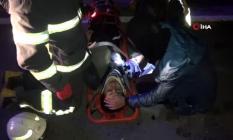 Aksaray - Karacaören Köy yolunda trafik kazası meydana geldi! 9 yaralı
