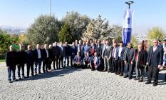 Ankara Büyükşehir Belediye Başkanı Mansur Yavaş muhtarların taleplerini dinledi