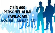 İŞKUR'dan yeni bir istihdam duyurusu yapıldı! Bu illerden toplam 7 bin 600 personel alımı yapılacak!