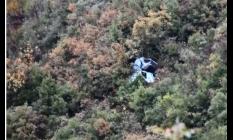 Manisa'da feci kaza! 150 metre aşağıya uçtular