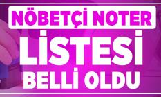 Nöbetçi noter listesi açıklandı! Türkiye Noterler Birliği 16 kasım cumartesi açık noter listesini yayınladı