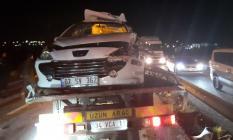Silivri'de feci trafik kazası! 2 ölü 3 yaralı