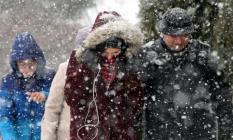 Kar ne zaman yağacak? diye bekliyorlardı! İlk kar yağışı gerçekleşti