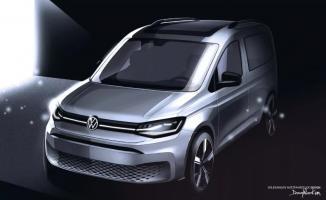 2020 model Volkswagen Caddy'nin yeni yüzü belli oldu!