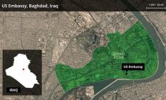 ABD Büyükelçiliği ve ABD askeri üslerine peş peşe saldırılar