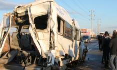 Aksaray'da kaza! Çok sayıda yaralı var!