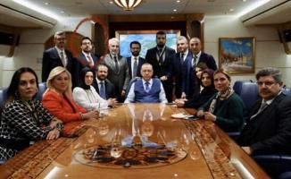 Asla Erdoğan'ın uçağına binmem diyen Ahmet Hakan Cumhurbaşkanı Erdoğan'ın uçağında görüntülendi!