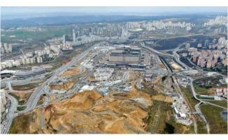 Başakşehir Şehir Hastane'sinin yol çalışmaları durduruldu