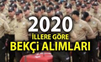 EGM 2020 yılı yeni bekçi alımı açıklaması! İşte İllere göre bekçi alımları: İstanbul, Ankara, Bursa...