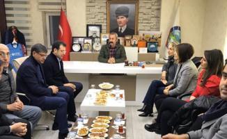 İmamoğlu Tunceli Belediye Başkanı Mehmet Maçoğlu'nun konuğu oldu!