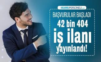 İŞKUR üzerinden 42 bin 404 iş ilanı yayınlandı! 21 Ocak İŞKUR iş ilanlarına başvurular başladı