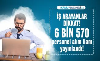 İŞKUR üzerinden İstanbul, Ankara ve İzmir'de 6 bin 570 personel alım ilanı yayınlandı! Başvurular bugün başladı