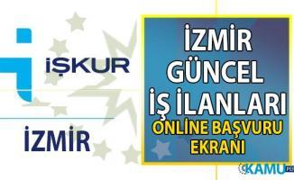 İzmir ilinde farklı mesleklerden 3 bin personel alımı yapılacak!