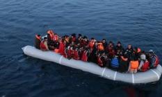 Kaçmaya çalışan 199 göçmen Çeşme açıklarında yakalandı!