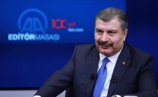 Sağlık Bakanı Fahrettin Koca'dan grip açıklaması