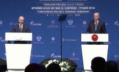 TürkAkım doğalgaz hattı açıldı! Tarihi gün!