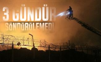 Adana'da yağ ve pamuk fabrikasında yangın 3 gündür söndürülemedi!