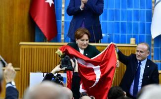 Akşener'den Erdoğan'a sert tepki:'' Ülke helal ekmek peşinde koşanlar ve rantçılar diye ikiye ayrılıyor!''