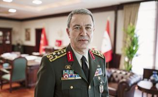 Bakan Hulusi Akar ve TSK'nın Komuta Kademesi Suriye Sınırında