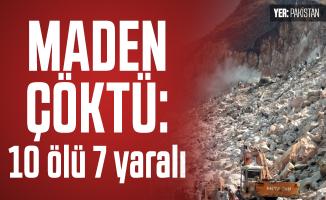Buner bölgesinde maden çöktü: 10 ölü 7 yaralı!