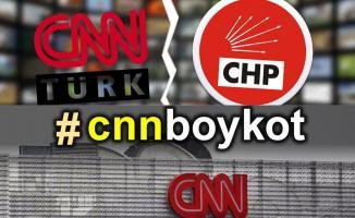 CNN Türk'ü izlemiyoruz, konuk olmuyoruz boykotu etkisini ilk günden gösterdi!