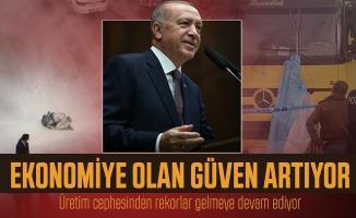 Cumhurbaşkanı Erdoğan ekonomiye güven artıyor derken ne demek istedi?