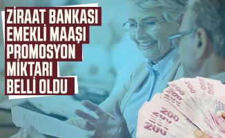 Emekli maaşı alan ve alacak olanlara Ziraat Bankası'nın ne kadar emekli maaşı promosyon vereceği belli oldu!