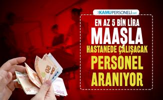 En az 5 bin lira maaşla Erciyes Üniversitesi hastanede çalışacak sağlık personeli alım ilanı yayımladı! Başvuru tarihleri belli oldu
