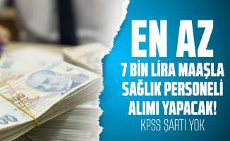 En az 7 bin lira maaşla Kızılay sağlık personeli alımı yapacak! KPSS şartı yok