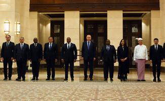 Erdoğan, Külliye'de 6 Büyükelçiyi Kabul Etti!