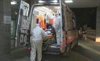İstanbul'da Corona Virüsü Paniği! Özel kıyafetli sağlık personelleri ile başka hastaneye sevk edildi