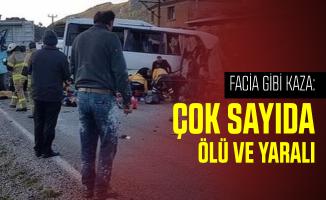 İzmir'de facia gibi kaza: Çok sayıda ölü ve yaralı var!