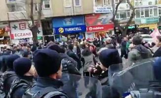 Kızılay protestosunda ortalık karıştı! 19 kişi gözaltına alındı