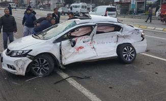 Sakarya'nın Hendek ilçesinde ölümlü trafik kazası!