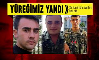Son dakika şehit düşen askerlerimizin isimleri açıklandı! Suriye'de şehit düşen askerlerin isimleri belli oldu