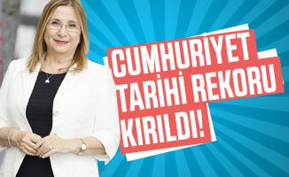 Son dakika Ticaret Bakanı Pekcan duyurdu: Cumhuriyet tarihi rekoru kırıldı!