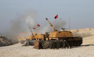 Son dakika! Türk Silahlı Kuvvetleri, rejime ait mevzileri top atışına tuttu!