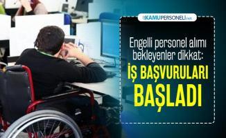 Türk Kızılayı engelli personel istihdam etmek için iş ilanı yayımladı!